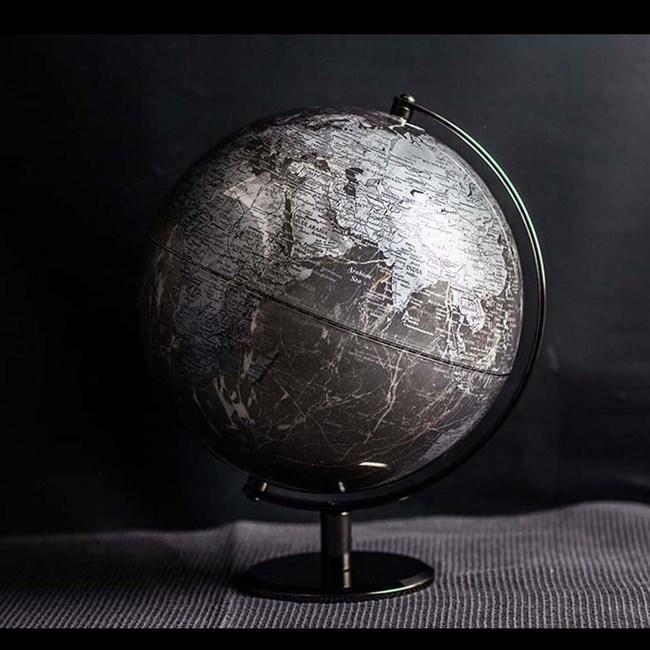 Skyglobe 10吋灰色大理石紋路地球儀(英文版)