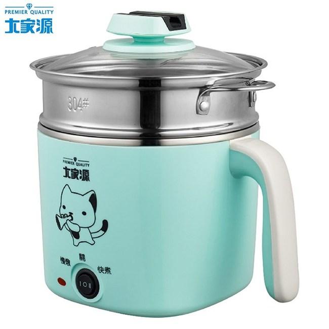 大家源1.5L 304不鏽鋼蒸煮燉兩用美食鍋 TCY-2743B
