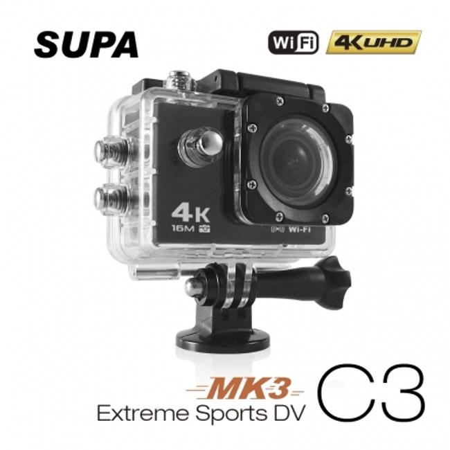 【速霸】C3 三代-MK3 4K/1080P  WiFi 機車防水型行