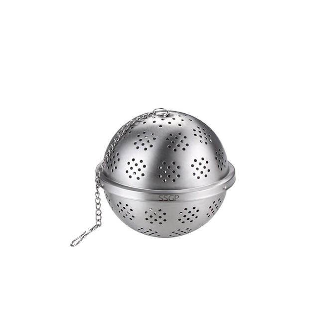 PUSH!廚房用品304不鏽鋼調料球煲湯過濾球D193-1中號二入中號二入