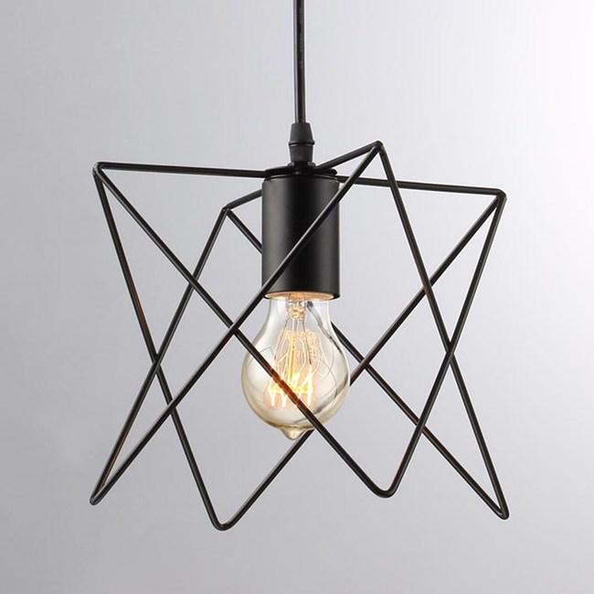 HONEY COMB  立體三角形工業單吊燈TA4005D