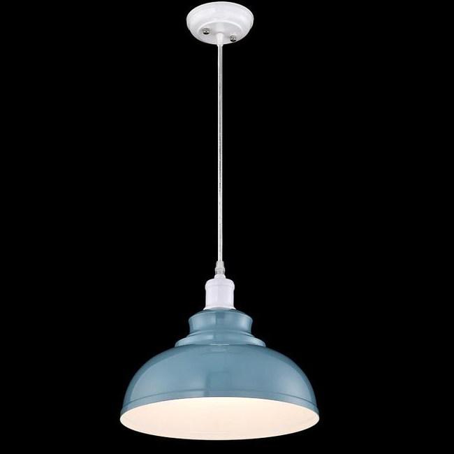工業風墨藍金屬單吊燈 TA7446R
