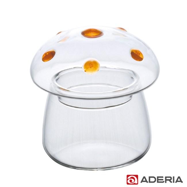 【ADERIA】日本進口圓點蘑菇容器(大)