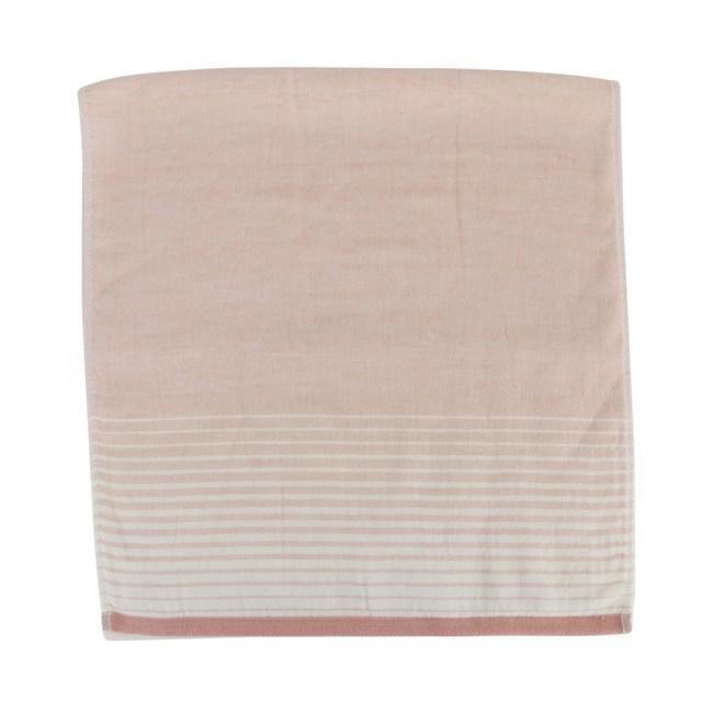 和風無撚紗布漸層浴巾 粉 60x137cm