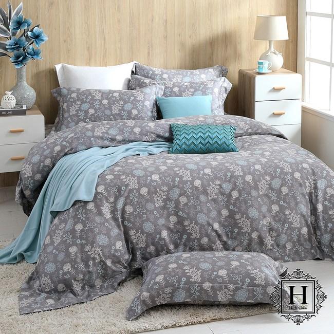 【HOYA H Series】奧斯汀雙人四件式400織匹馬棉被套床包組
