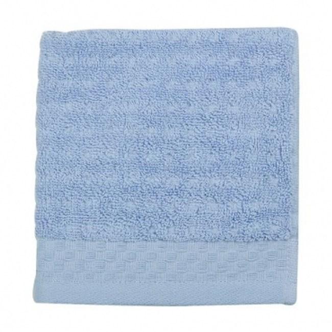 HOLA home 格紋方巾 藍色 33x33cm