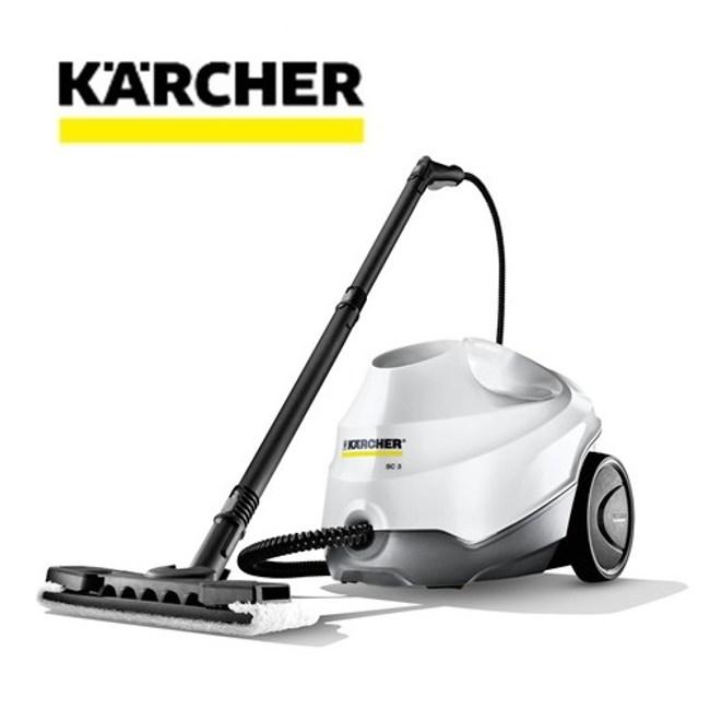 德國 凱馳 SC3 多功能高壓蒸氣清洗機 / 白色