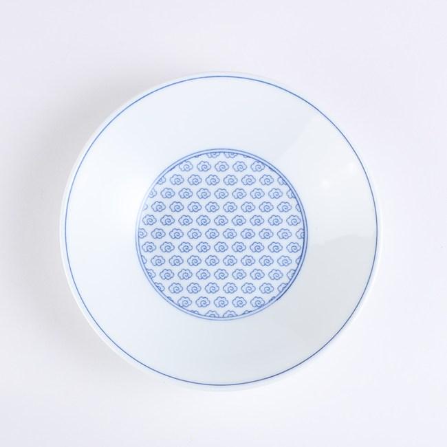 日本晨月圓盤22cm 雲繪