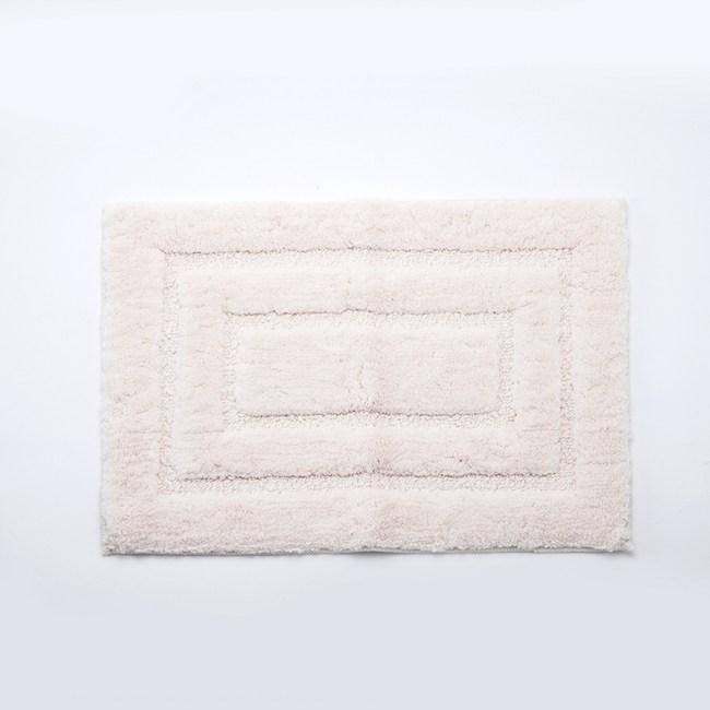 HOLA 超細纖維抗菌吸水踏墊40x60cm 白