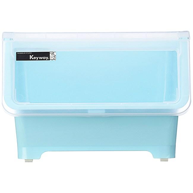 KEYWAY 直取式收納箱 20L 藍色款 型號BQ-522