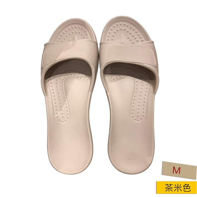 HOLA EVA柔軟室內拖鞋 茶米M