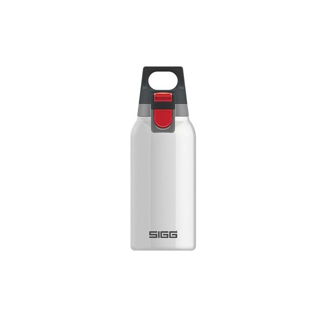 瑞士百年SIGG H&C 彈蓋不銹鋼保溫瓶 300ml - 純雪