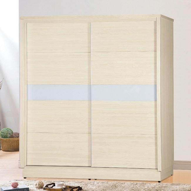 【YFS】考爾比6尺雪松三拉衣櫃-178x59.5x203cm
