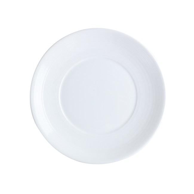 HOLA 璞真純色平盤24cm 白