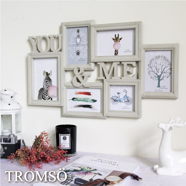 TROMSO北歐刷木紋YOU&ME6框組