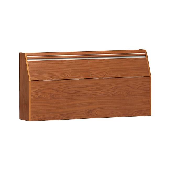 【YFS】安迪6尺柚木色床頭箱--185.5x30x77cm