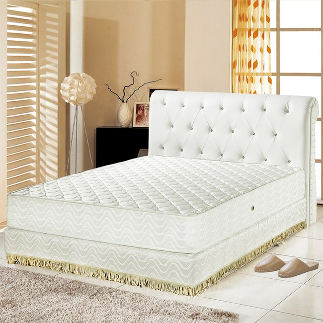 【睡芝寶】防蹣抗菌3M防潑水抗菌獨立筒床墊雙人5尺