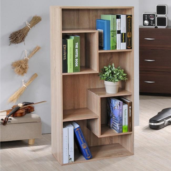 【Hopma】現代書櫃/收納櫃-淺橡木