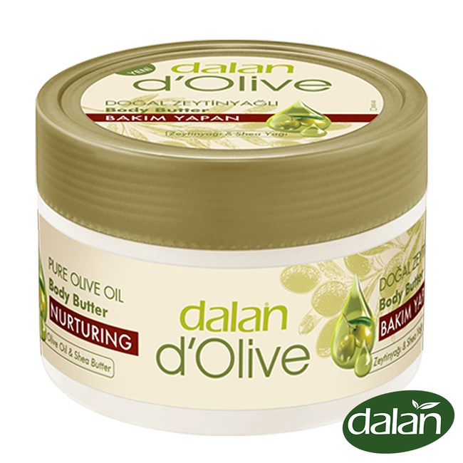【土耳其dalan】頂級橄欖油超滋潤身體潤膚霜(罐狀)250ml