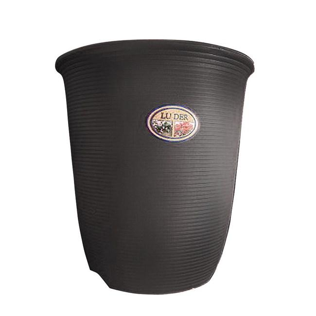 Luder 塑質素陶盆8吋 咖啡