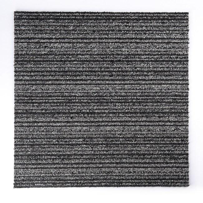 惠普免施工方塊毯-深灰