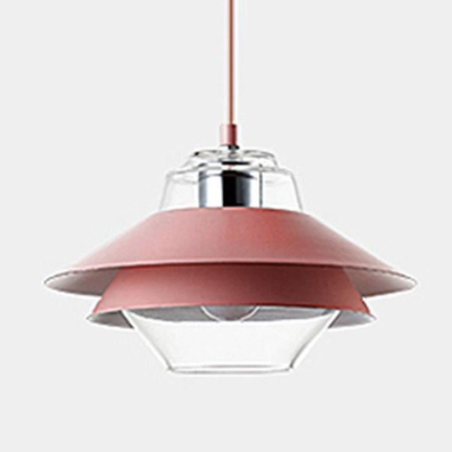 HONEY COMB 暢銷北歐風馬卡龍層次感單吊燈 五色款 紅色 TA8920