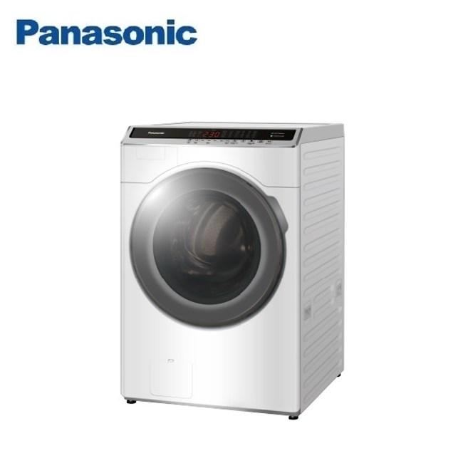 (含基本安裝)Panasonic國際18公斤洗脫烘滾筒洗衣機NA-V180HDH-W
