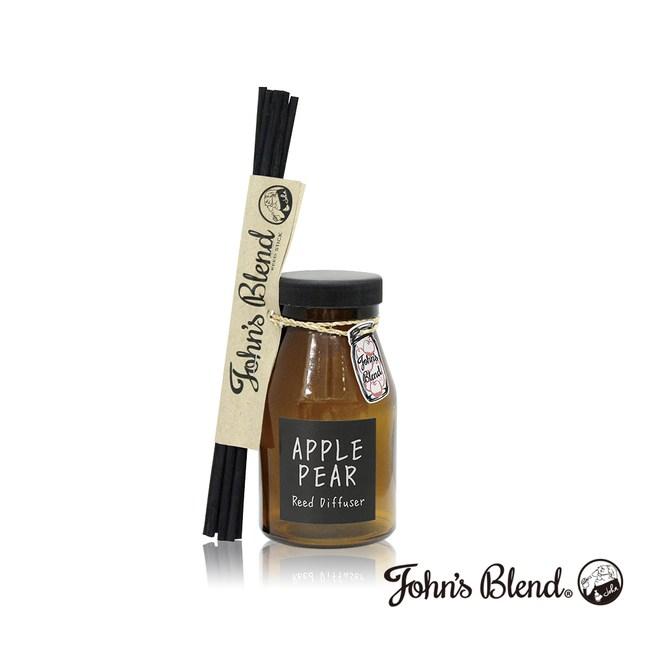 日本John's Blend 室內香氛擴香瓶(140ml/瓶)蘋果甜梨