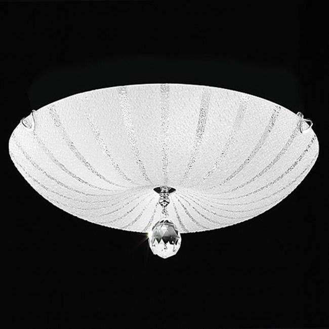 HONEY COMB  玻璃水晶珠吸頂三燈TA4017D
