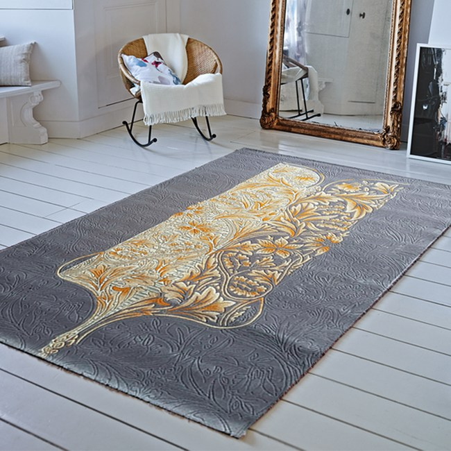 【YFS】耐磨高透氣親膚地毯-開羅160x230cm