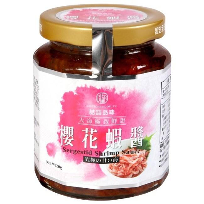 台灣維喆櫻花蝦醬280g