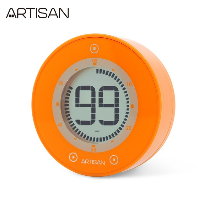 ARTISAN iZu圓形計時器(荷蘭橘)T01O