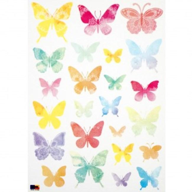 韓國FIXPIX大型創意壁貼 蝴蝶