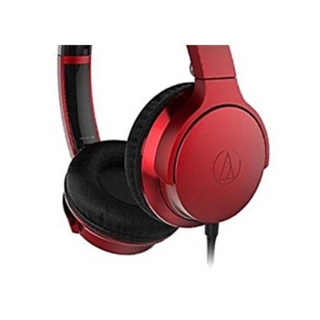 鐵三角 ATH-AR3 紅色 摺疊耳罩式耳機 可拆卸導線