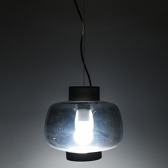 HONEY COMB 煙灰色鏡面玻璃單吊燈TA7583R