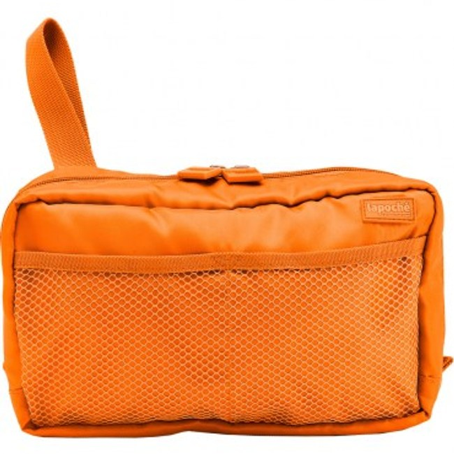 Lapoche 個人旅行盥洗包(中)-橘色