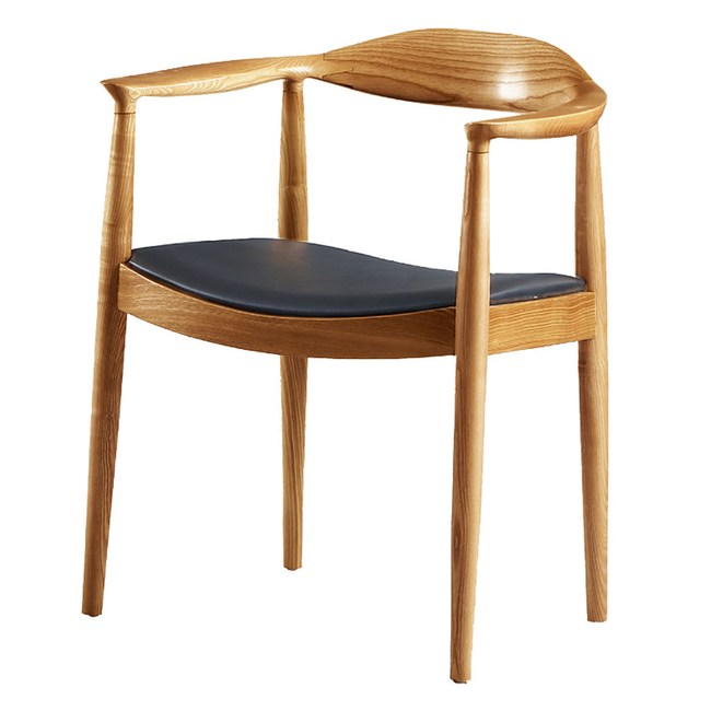 【YFS】莎碧娜實木椅-59x56x76cm(兩色可選)原木