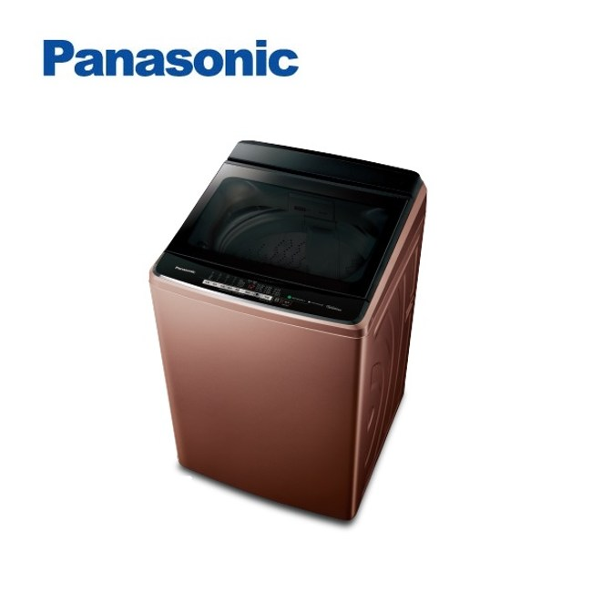 (贈不沾方型煎炒鍋)Panasonic國際牌17KG變頻洗衣機 NA-V170GB-T