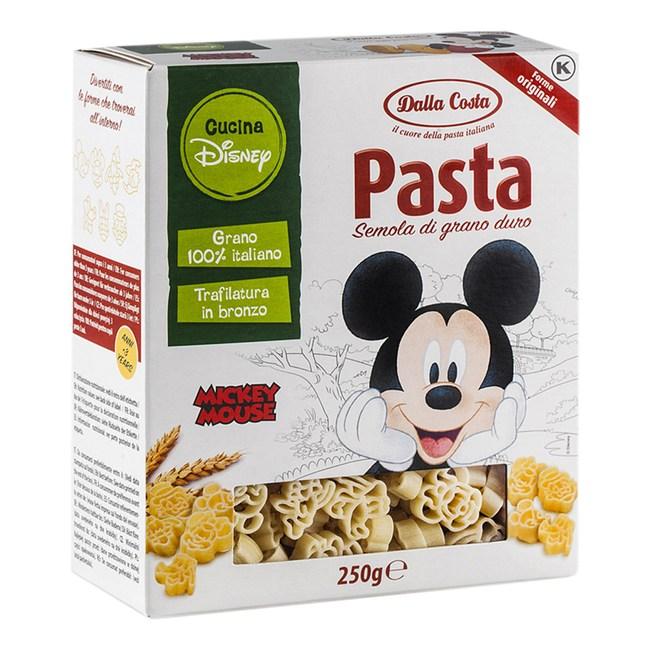 義大利Dalla迪士尼米老鼠義大利麵 盒裝250G