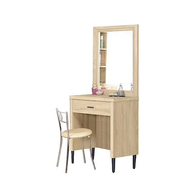 【YFS】布茲2尺原切化妝桌-59.5x40x80.8cm