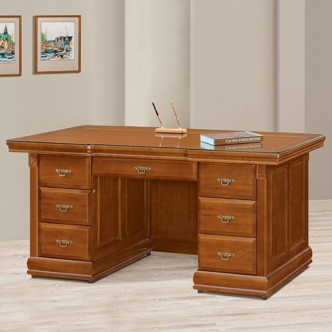 【YFS】坎蒂絲全實木6尺辦公桌-175x83x82cm