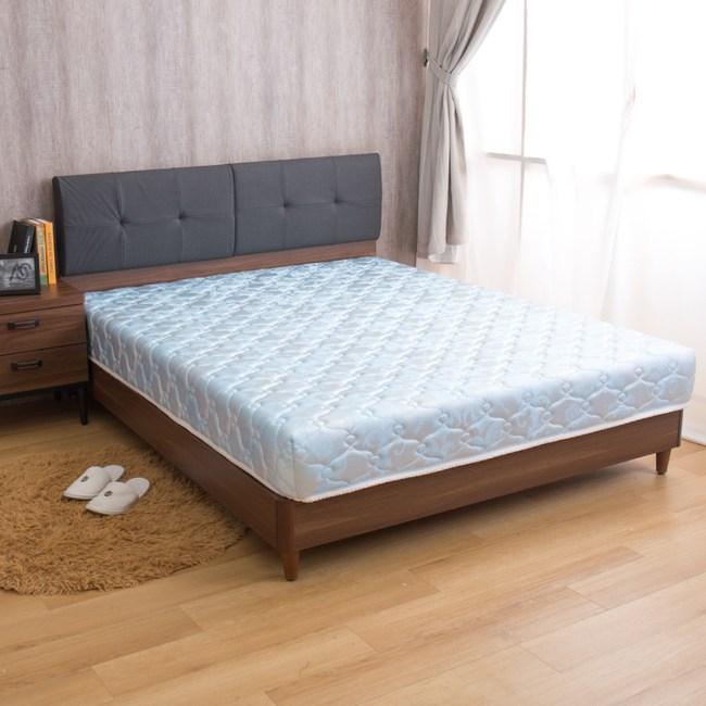 【YFS】璐易絲特級透氣款-歐式緹花冬夏兩用6尺彈簧床墊