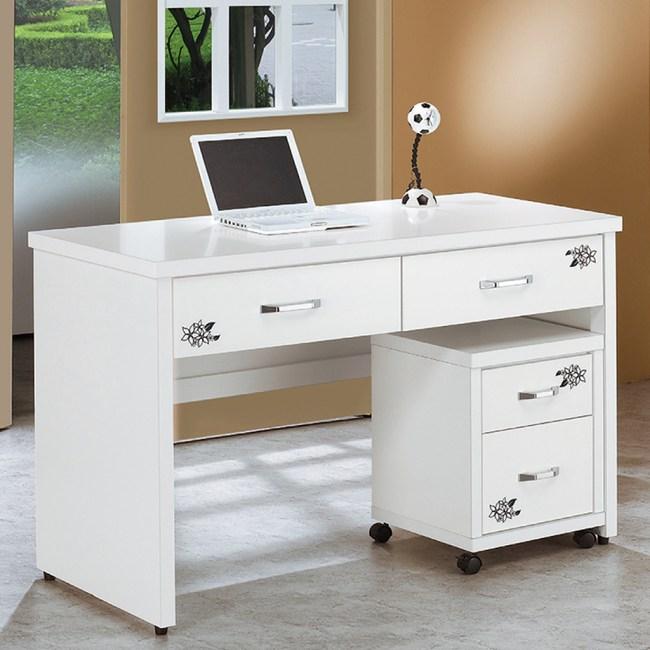 【YFS】捷琳4.2尺書桌-126x60x81cm