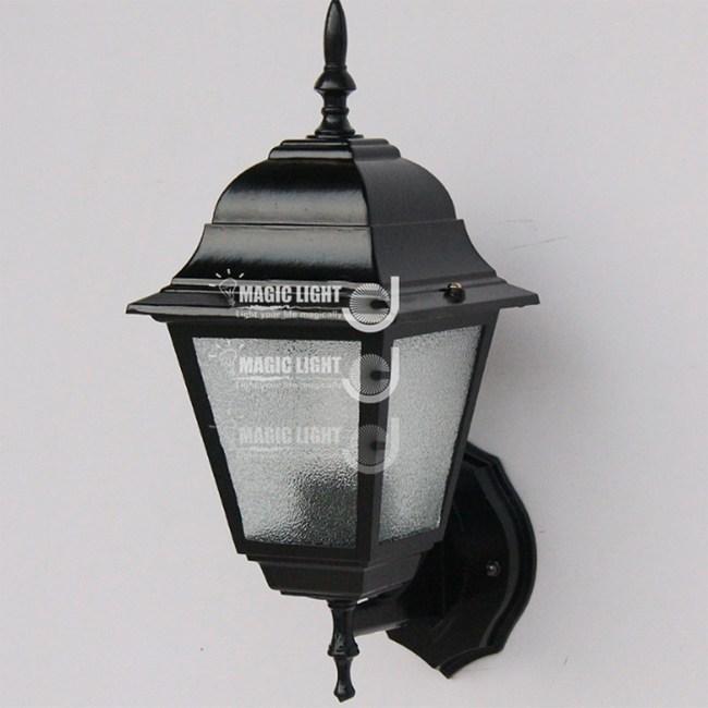【光的魔法師 】黑小四方 戶外壁燈 防水戶外照明創意花園燈美式陽台
