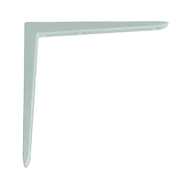 直角型擱板托 白色 10