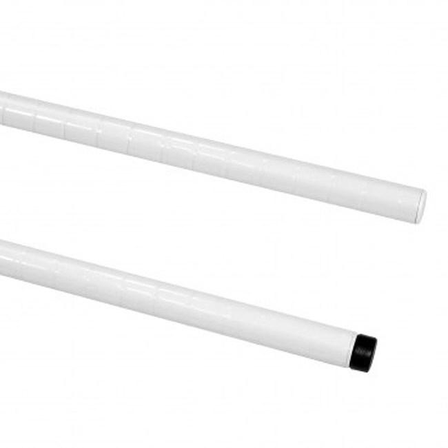 特力屋 烤漆鐵管 45cm 白色