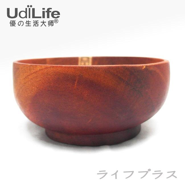 【一品川流】UdiLife 品木屋。原木飯碗-中-4入組