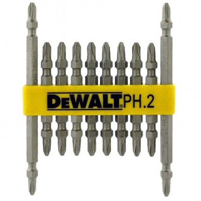 DEWALT 2#65X8支+2#110X2支 專業用起子頭