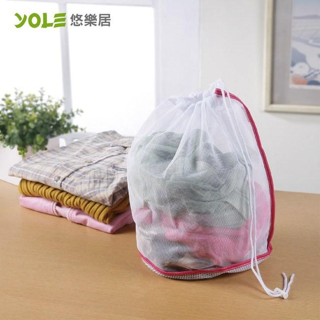 【YOLE悠樂居】束口錐型洗衣袋-小(4入) #1229006