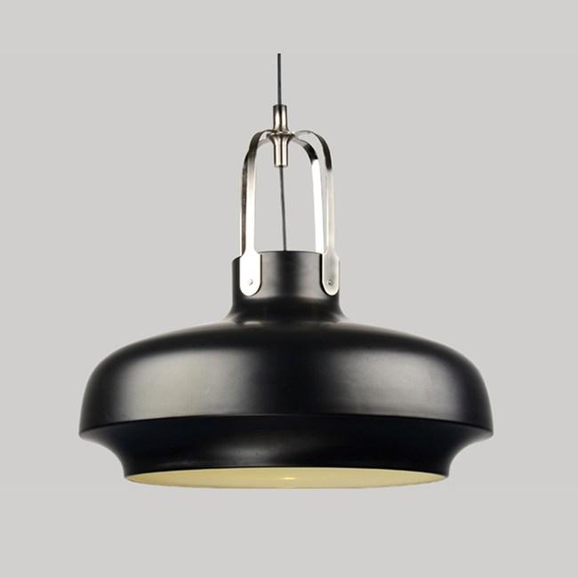 HONEY COMB 超熱銷工業風金屬單吊燈 黑色 TA8392